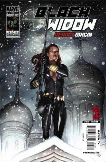 BLACK WIDOW DEADLY ORIGINS  #2 NM (2010)