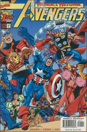 AVENGERS #1 VF/NM 3RD SERIES (1998)