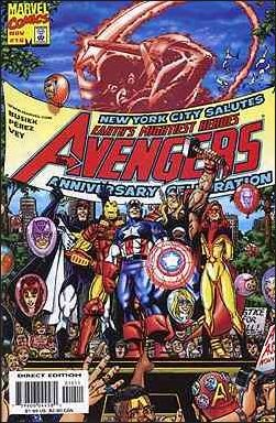 AVENGERS #10 VF/NM 3RD SERIES (1998)