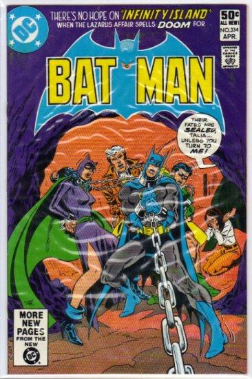 BATMAN #334 VF