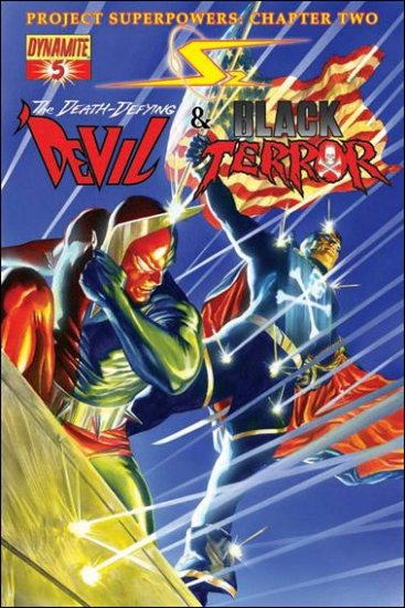 PROJECT SUPERPOWERS #5 NM (2010)  DEATH-DEFYING DEVIL & BLACK TERROR