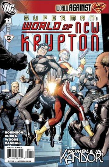 SUPERMAN: WORLD OF NEW KRYPTON #11 NM (2010)
