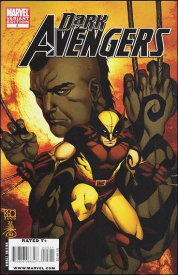 DARK AVENGERS #5 NM (2009) 1:15 VARIANT