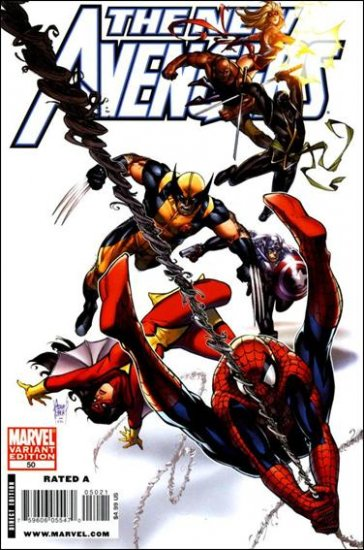 NEW AVENGERS #50 VF/NM B COVER(2009) *DARK REIGN*