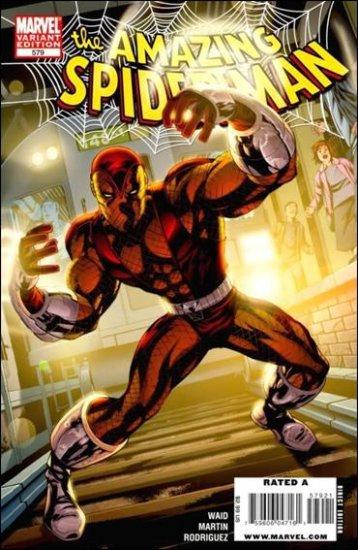 AMAZING SPIDER-MAN #579 NM (2008)  VARIANT
