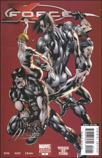 X-FORCE #1 VF/NM  1:25 VARIANT