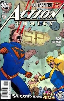 ACTION COMICS #885 NM (2010) *WORLD AGAINST SUPERMAN*
