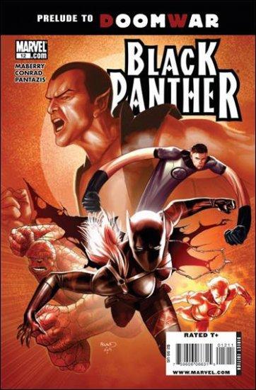 BLACK PANTHER #12 NM (2010)