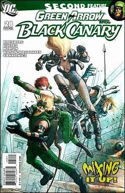 GREEN ARROW and BLACK CANARY #28 NM (2010)