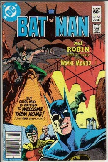 BATMAN #348