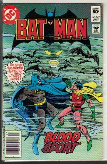 BATMAN #349