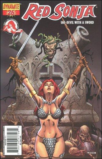 RED SONJA #26 VF/NM RUBI COVER  *DYNAMITE*