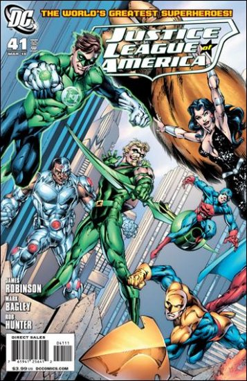 JUSTICE LEAGUE OF AMERICA #41 NM (2010) A COVER