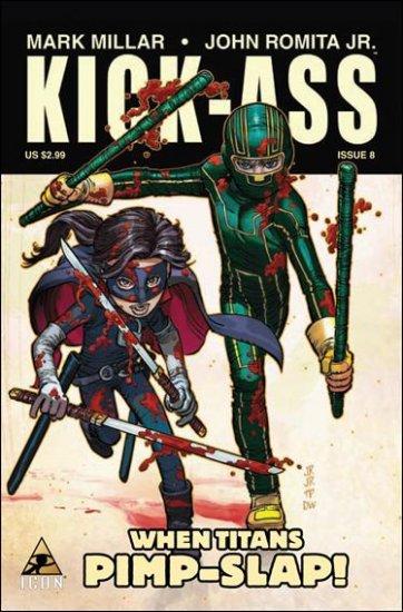 KICK-ASS #8  NM (2009)
