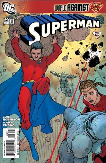 SUPERMAN #696 NM (2010) WORLD AGAINST SUPERMAN