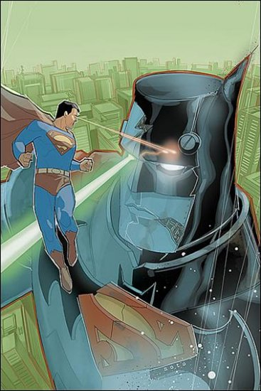 WORLD'S FINEST #4 NM (2010) COVER A