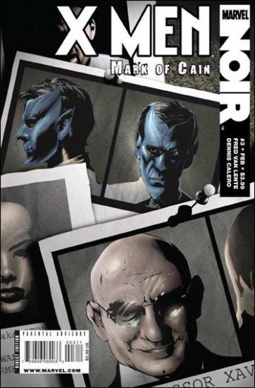 X-MEN NOIR: MARK OF CAIN #3 NM (2009)