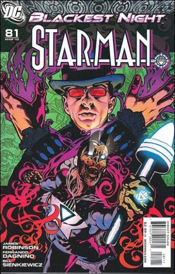 STARMAN #81 NM (2010) BLACKEST NIGHT