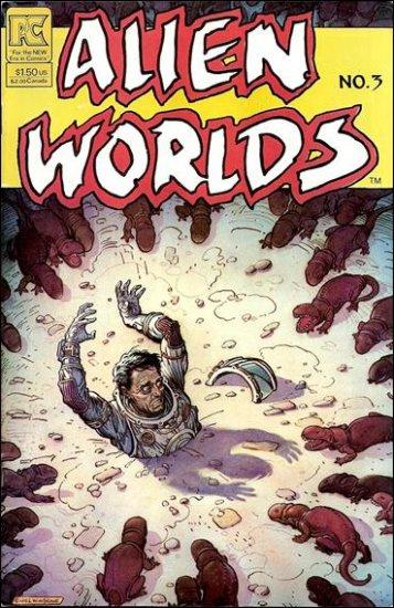 ALIEN WORLDS #3  PACIFIC COMICS