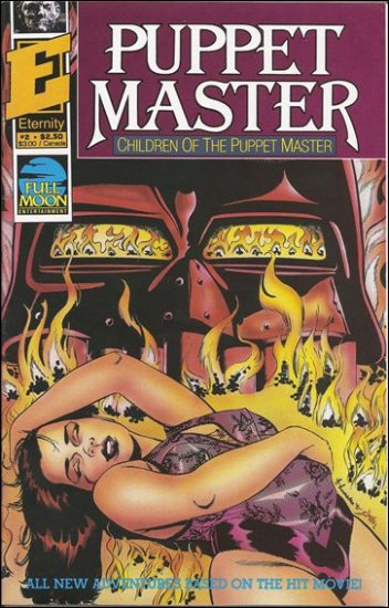 PUPPET MASTER CHILDREN OF THE PUPPET MASTER #2  ETERNITY COMICS  MATURE READERS ONLY
