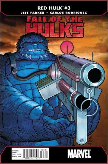 FALL OF THE HULKS: RED HULK #3 NM (2010)