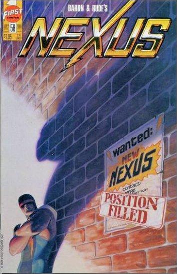 NEXUS #58 VF/NM FIRST COMICS SERIES