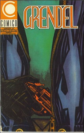 GRENDEL #33 COMICO SERIES