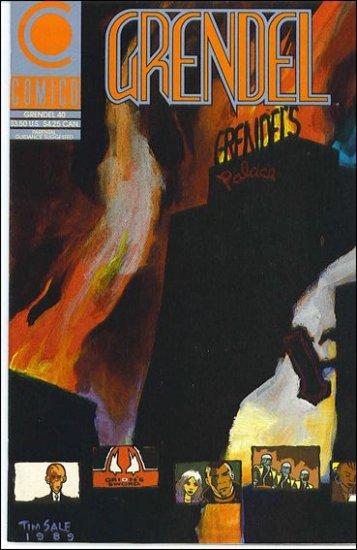 GRENDEL #40 COMICO SERIES