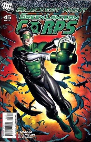 GREEN LANTERN CORPS #45  1:25 VARIANT NM *BLACKEST NIGHT*