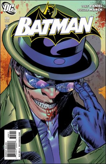 BATMAN  #698 NM (2010)