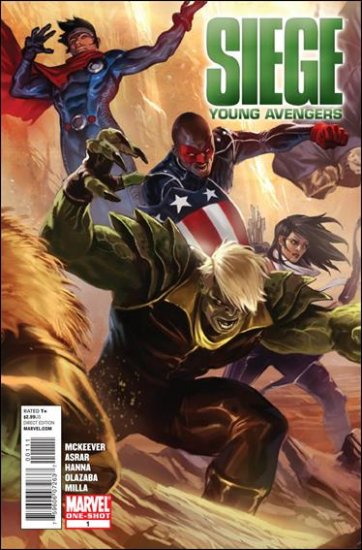 SIEGE: YOUNG AVENGERS #1 NM (2010)