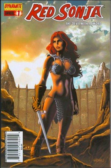 RED SONJA ANNUAL #1C VF/NM RUBI COVER  *DYNAMITE*