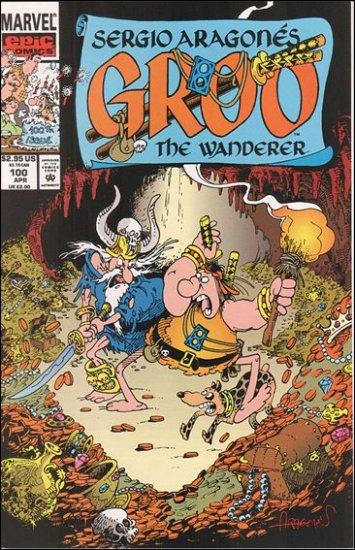 GROO #100 (1985) VF/NM