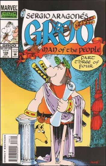 GROO #108 (1985) VF/NM