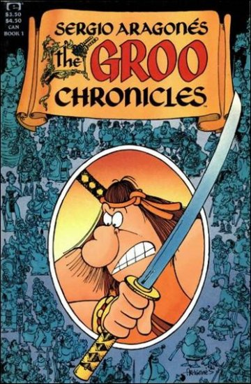 GROO CHRONICLES #1 (1985) VF/NM