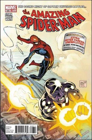 AMAZING SPIDER-MAN #628 NM (2010)
