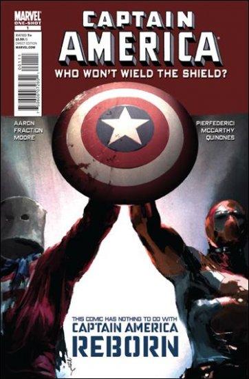 CAPTAIN AMERICA WHO WON'T WIELD SHIELD #1 VF/NM (2010)