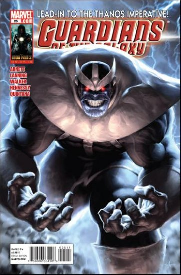 GUARDIANS OF THE GALAXY #25 (2010) THANOS