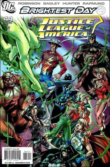 JUSTICE LEAGUE OF AMERICA #44 NM (2010)BRIGHTEST DAY