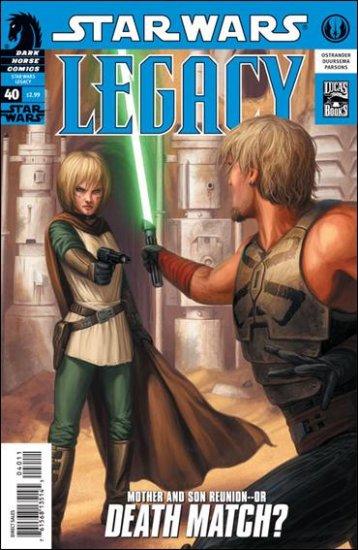 STAR WARS LEGACY #40 VF/NM(2009)