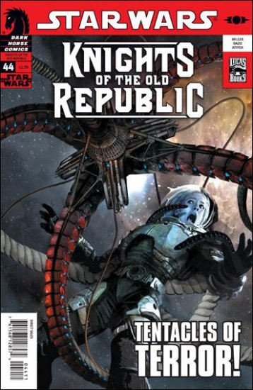 STAR WARS KNIGHTS OF THE OLD REPUBLIC #44 NM (2009)