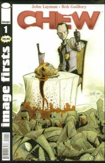 CHEW #1 VF/NM IMAGE FIRSTS