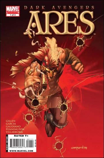 DARK AVENGERS ARES #1-3 NM (2009) COMPLETE SERIES