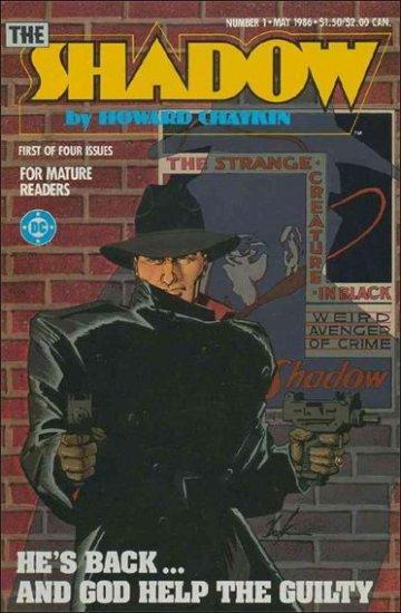 SHADOW #1 VF/NM 1986 MINI SERIES BY HOWARD CHAYKIN