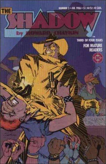 SHADOW #3 VF/NM 1986 MINI SERIES BY HOWARD CHAYKIN