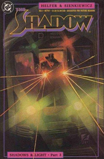 SHADOW #3 VF/NM 1987 SERIES SIENKIEWICZ