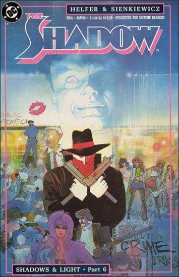 SHADOW #6 VF/NM 1987 SERIES SIENKIEWICZ