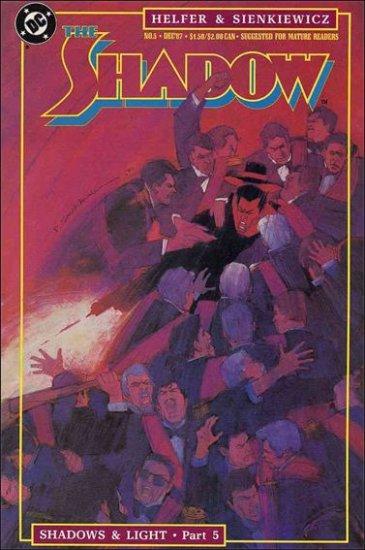 SHADOW #7 VF/NM 1987 SERIES SIENKIEWICZ