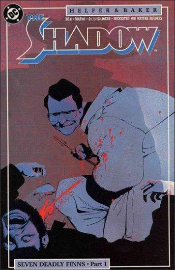 SHADOW #8 VF/NM 1987 SERIES SIENKIEWICZ
