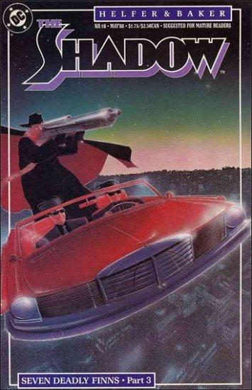 SHADOW #10 VF/NM 1987 SERIES SIENKIEWICZ